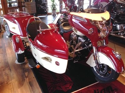 Neu: Indian-Chieftain-Gespann