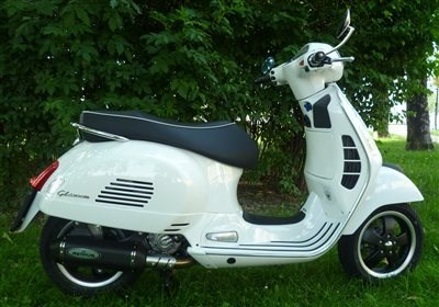 Umbau VESPA GTS 300 ie Super