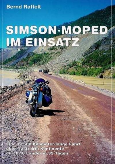 Simson Moped im Einsatz