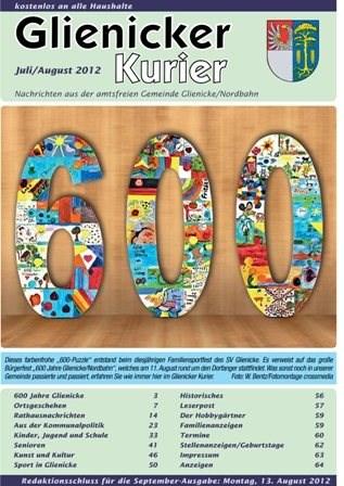 600 Jahre Glienicke