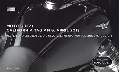 Moto Guzzi Testride Day am 06.04.2013