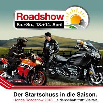 Honda Roadshow 2013 am 13. und 14.April bei Motorrad Kreiselmeyer GmbH in Feuchtwangen