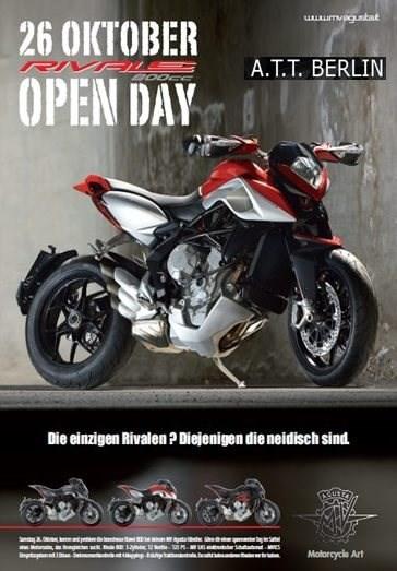 MV Agusta Rivale 800 EAS Day am 26.10.2013!