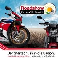 Honda Roadshow 2014 bei Motorrad Kreiselmeyer GmbH