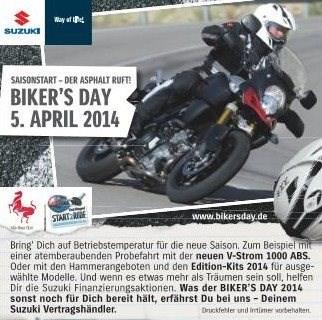 Suzuki Biker's Day