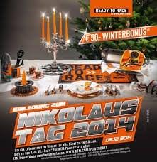 KTM Nikolaustag 06. Dezember 2014
