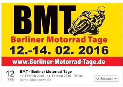 A.T.T.- mit MV Agusta auf der BMT 2016!