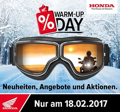 Warm up Day 2017