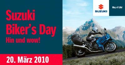 SUZUKI BIKERS DAY bei Knobi