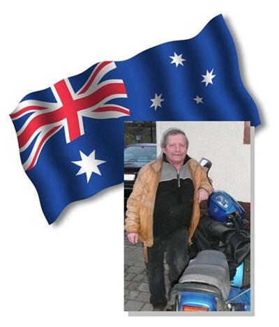 Bernd Raffelt-Simson umrundet Australien