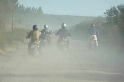 Mit dem Bike durch Südafrika