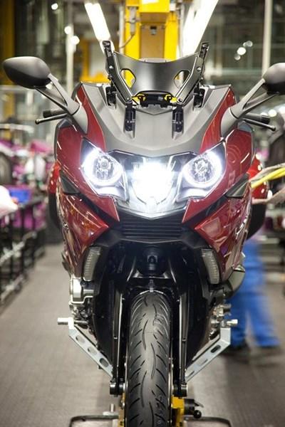 BMW Motorrad Werksbesichtigung