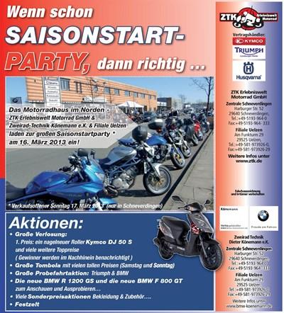 Saisonstartparty 2013
