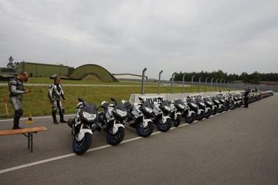 BMW Testride am Sachsenring