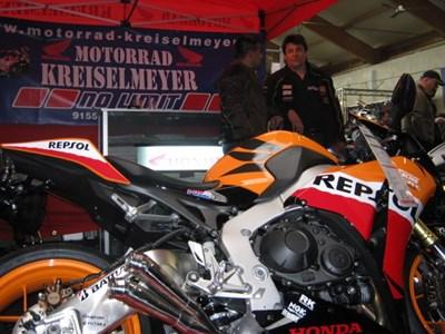 Wheelies Motorrad-Messe Arena Hohenlohe