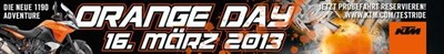 KTM GST Orange Day