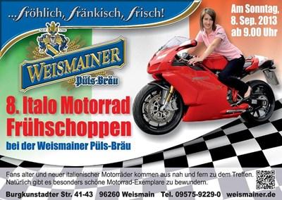 Italo Frühschoppen 08. Sept. 13 ab 9.00Uhr