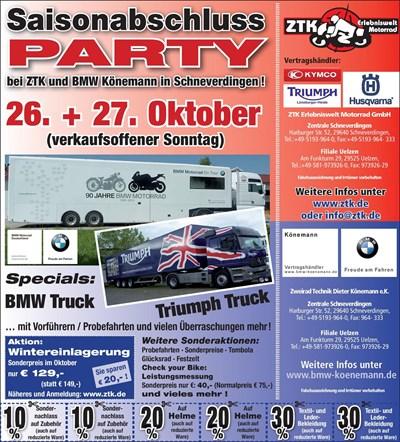 Saisonabschlussparty 2013