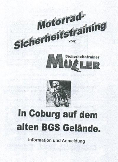 Sicherheitstraining am BGS Gelände