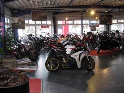 Honda Roadshow 2014 am 12. und 13.April bei Motorrad Kreiselmeyer GmbH in Feuchtwangen