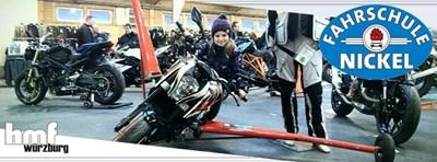 Motorrad-Schräglagentraining
