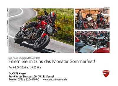 Ducati Monster Sommerfest