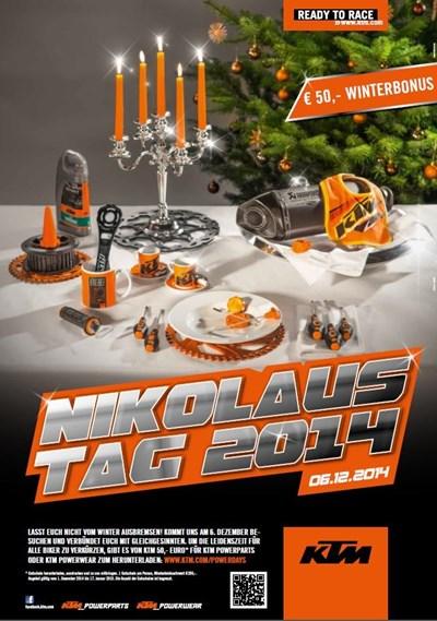 KTM Nikolaustag 2014