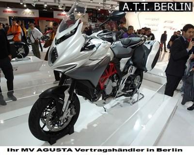 Erleben Sie exclusiv in Berlin die neue MV Agusta Turismo Veloce vom 23.02.-26.02.2015 bei uns!