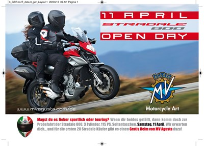 """Stradale 800 """"Open Day"""""""