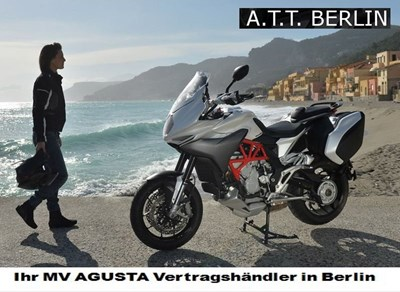 Erleben Sie die neue MV Agusta Turismo Veloce live vom 30.4.-03.05.15 auf der Spinnerbrücke!