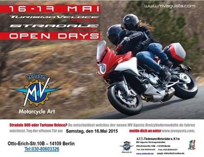 MV Agusta Turismo Veloce & Stradale Open Day!