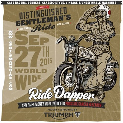 """Distinguished Gentleman´s Ride"" am 27. September 2015"