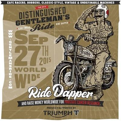 """Distinguished Gentleman´s Ride"" am 27. September 2015"