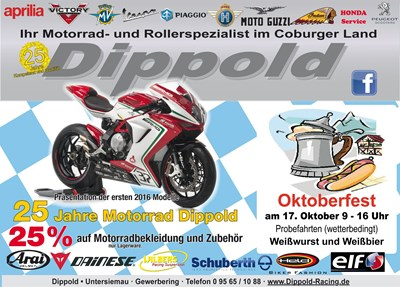 Oktoberfest - 25 Jahre Motorrad Dippold
