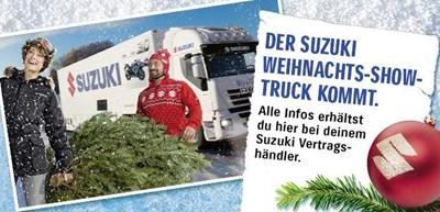 Suzuki-Weihnachtstruck