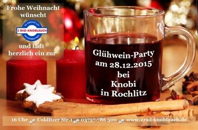 Glühwein-Party bei 2Rad-Knobi...