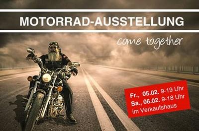 Große Motorradausstellung in Bad Segeberg