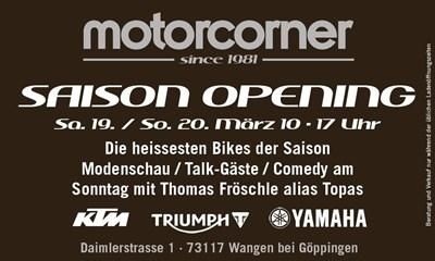 Saison Opening 2016