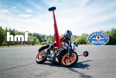 Motorrad-Schräglagentraining inkl. Bike