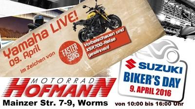 Yamaha Live und Suzuki Biker's Day