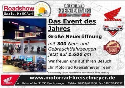 Neueröffnung und Honda Roadshow