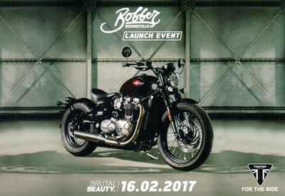 Triumph Bobber Launch Event