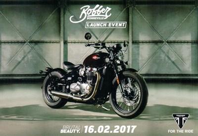 Triumph Bobber Launch Event