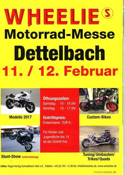 Motorradmesse in Dettelbach