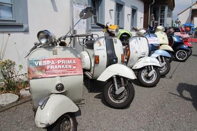 10. Vespa & Ape Treffen in Kaltenbrunn