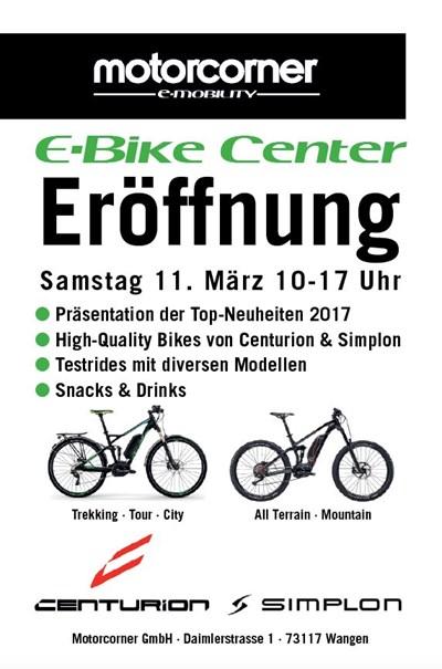 E-Bike Center Eröffnung