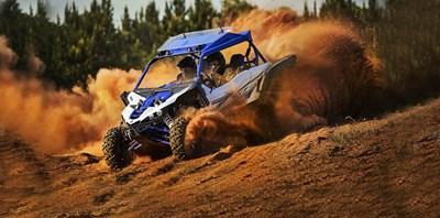 YXZ1000 R auf den Strecken der Rallye WM in Portugal/Algarve