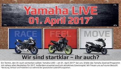 Yamaha Live bei hmf in Würzburg