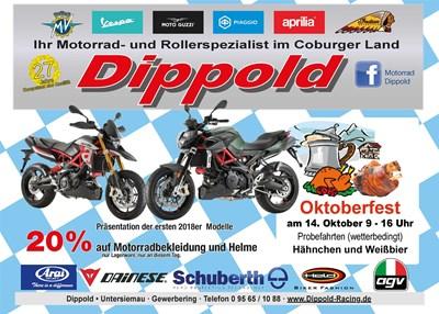 Oktoberfest bei Motorrad Dippold