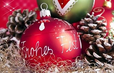 Weihnachtsfeier  am 9. Dezember 2017